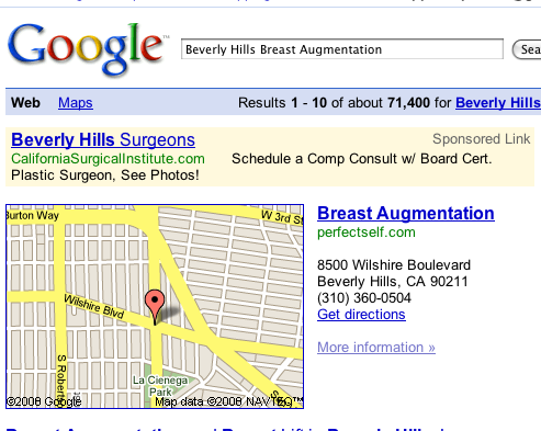 Search Optimization Breast Augmentation